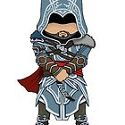 Ezio AC Revelations Chibi by SushiKitteh&#x27;s Creations