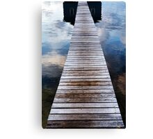 Sunrise at the Boat Shed Canvas Print
