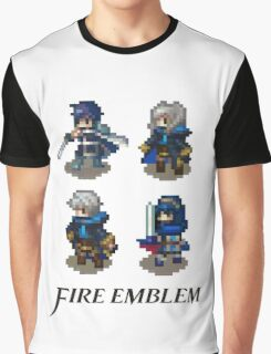 Fire Emblem Awakening Sprites Graphic T-Shirt