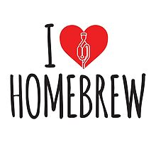 I Love Homebrew by baridesign