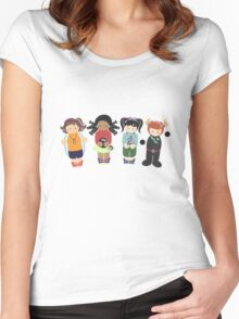 Adventure Girls Women's Fitted Scoop T-Shirt