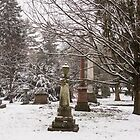 Spring Grove in the Snow by Cathy Donohoue
