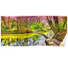 The Stepping Stones - Box Hill - Orton  Poster