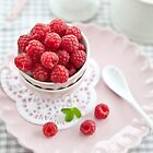 Sweet Raspberries by Barbara Neveu