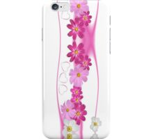 Hearts and Flowers iPhone iPod Case iPhone Case/Skin