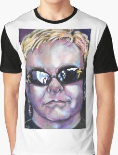 Elton John Graphic T-Shirt