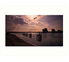 Cardiff Bay. Art Print