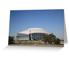 Dallas Cowboys Stadium Greeting Card