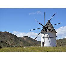 Windmill, San José Photographic Print