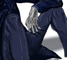 Nosferatu having a sit Sticker
