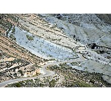 Rolling Hills in Almeria Photographic Print