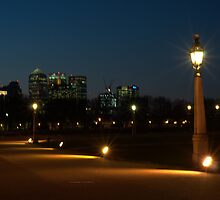 """"""" Nightscape In Greenwich """" by Richard Couchman"""