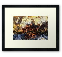 Glory and Fall II Framed Print