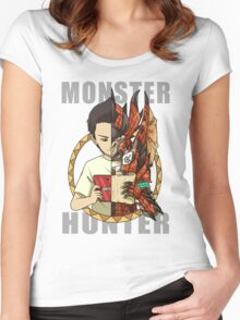 Monster Hunter Life Women's Fitted Scoop T-Shirt