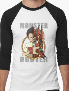 Monster Hunter Life Men's Baseball ¾ T-Shirt