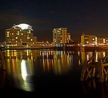Cardiff Bay. by Tony Batey