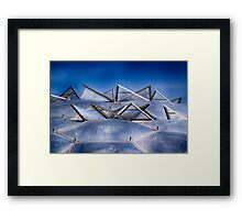 Eden Project Roof Framed Print