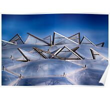 Eden Project Roof Poster