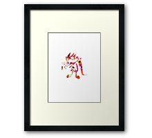 Deku Flower Framed Print