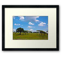 Masai Mara 3 - Kenya Framed Print