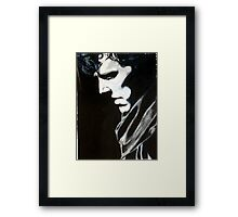 Sherlock, larger sizes to come Framed Print