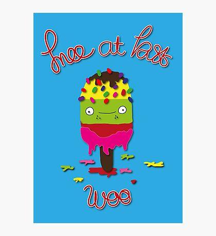 Ice lolly Photographic Print