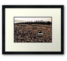 Old Kettle [Sepia Darkened] Framed Print