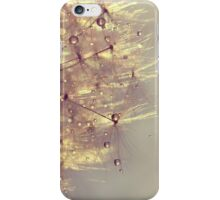 sparkles of gold iPhone Case/Skin