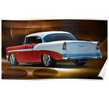 1956 Chevrolet Bel Air II Poster