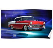1956 Chevrolet Bel Air III Poster