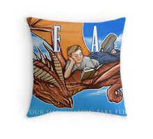 Imagination Take Flight Throw Pillow