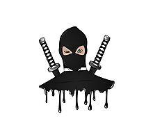 Black Ninja Photographic Print