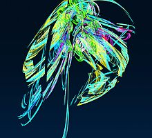 Fractal - Jellyfish by Susan Savad
