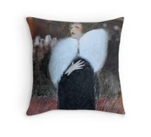 At the opera Throw Pillow