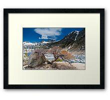 Bishop Lake Memorial Day Framed Print