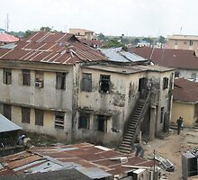 Lagos back street by Pontvert