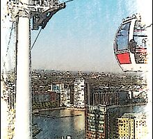 The Emirates Sky Wire London by Pontvert