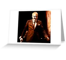 The Posterization of Steve Martin  Greeting Card