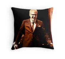 The Posterization of Steve Martin  Throw Pillow