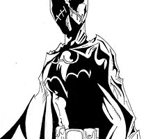 Batgirl by Monochrome-Bib