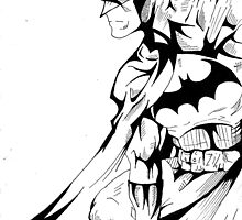 Batman by Monochrome-Bib