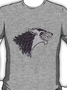 Pokemon / Game of Thrones: Mightyena / Stark T-Shirt