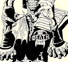 Judge Death by Monochrome-Bib