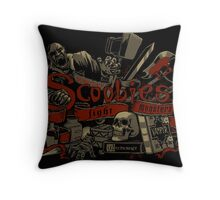 Scoobies Throw Pillow