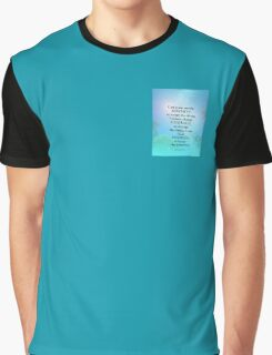 Serenity Prayer September Sky Graphic T-Shirt