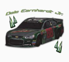 A #DaleJr design. #DewCrew by ernhrtfan