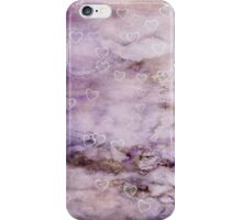 Vintage Grunge Hearts Wallpaper iPhone iPod Case iPhone Case/Skin