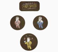 Bioshock - A Smart Splicer (stickers) by Carrie Wilbraham