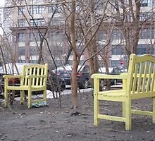 Yellow Chairs by S112MIA
