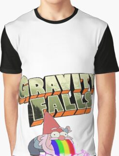 gravity falls gnome puke Graphic T-Shirt